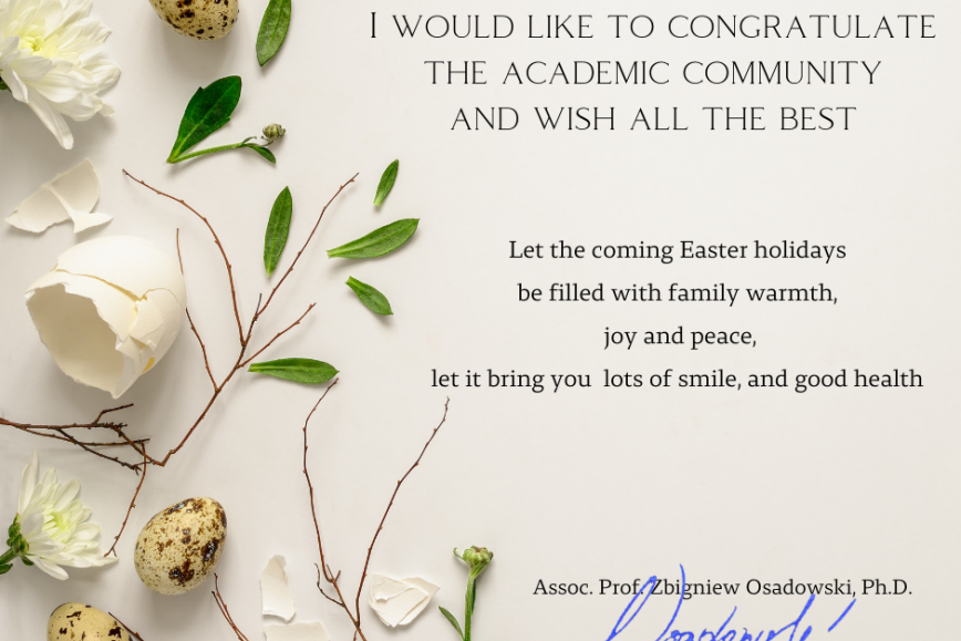 Easter Greetings from the Rector